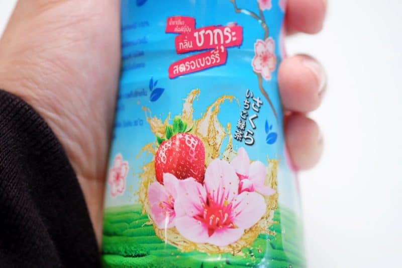 review-oishi-green-tea-sakura-strawberry-flavour-11