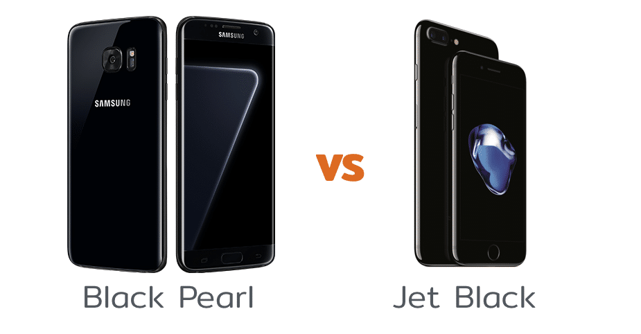 Samsung เปิดตัว Galaxy S7 edge สีดำเงา Black Pearl ท้าชน iPhone 7 สีดำเงา Jet Black