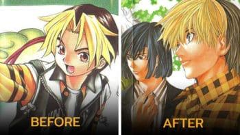 มาไกลมาก !! เทียบหน้าตัวการ์ตูนดัง ที่หน้าเปลี่ยนจากตอนแรกๆ ยิ่งกว่าทำศัลยกรรม