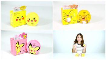 รีวิว Cathy Doll X Pokemon คูชั่นโปเกม่อน น่ารักมุ้งมิ้งในราคา 169 บาทเท่านั้น