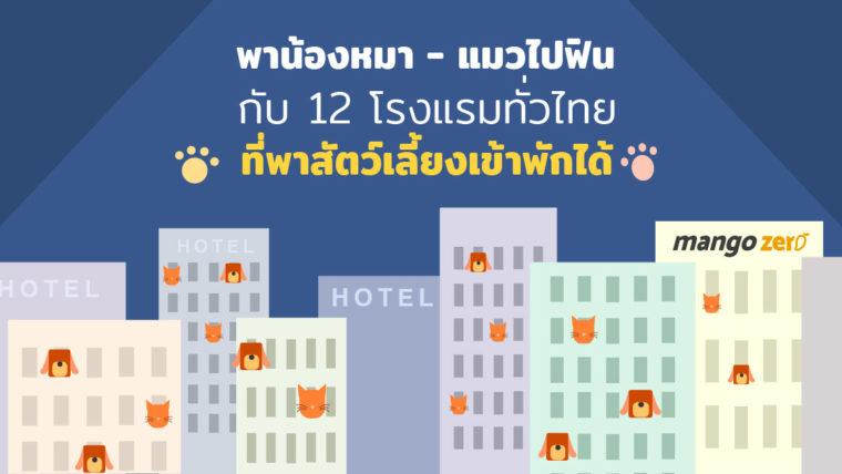 พาน้องหมา-แมวไปฟินกับ 12 โรงแรมทั่วไทยที่พาสัตว์เลี้ยงเข้าพักได้