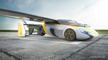 สุดเจ๋ง! Aeromobil เตรียมเปิดขายรถยนต์บินได้ปลายปีนี้