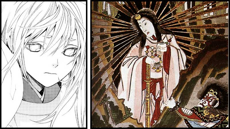 amaterasu-noragami-japan-god