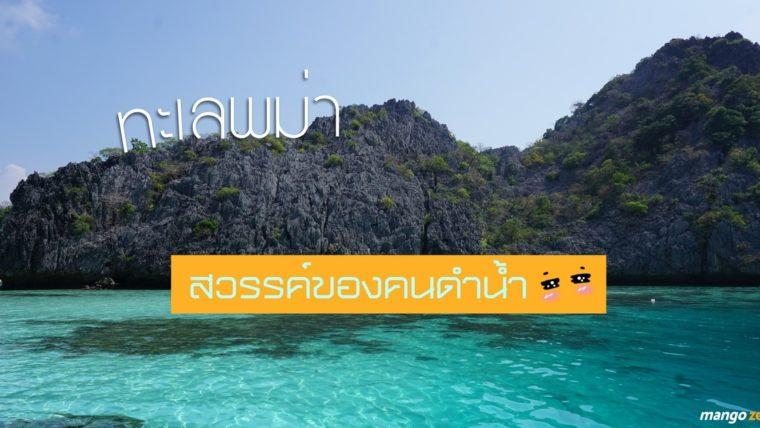 รีวิวทัวร์ 4 เกาะพม่า สวรรค์ของคนดำน้ำ ชื่นชมหมู่มวลปะการัง และไฮไลท์เด็ด 'เกาะหัวใจมรกต'