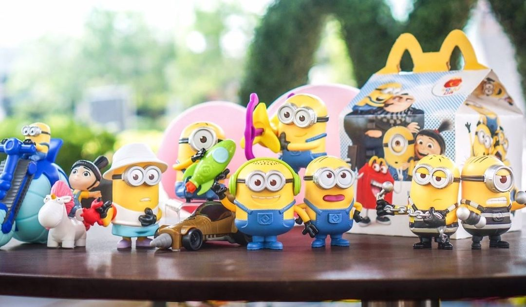 ฤดูกาลล่า Minions มาแล้ว!! McDonald's จัดชุด Happy Meal แถมของเล่นจาก Despicable Me 3