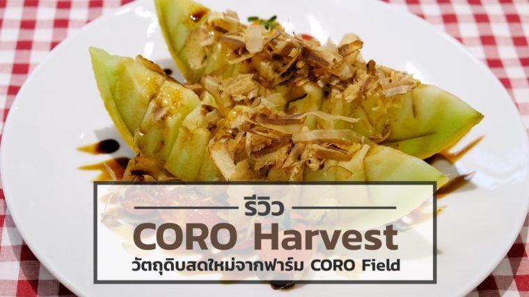 [Review] CORO Harvest วัตถุดิบสดใหม่จากฟาร์ม CORO Field ขนมาเสิร์ฟใจกลางเมือง