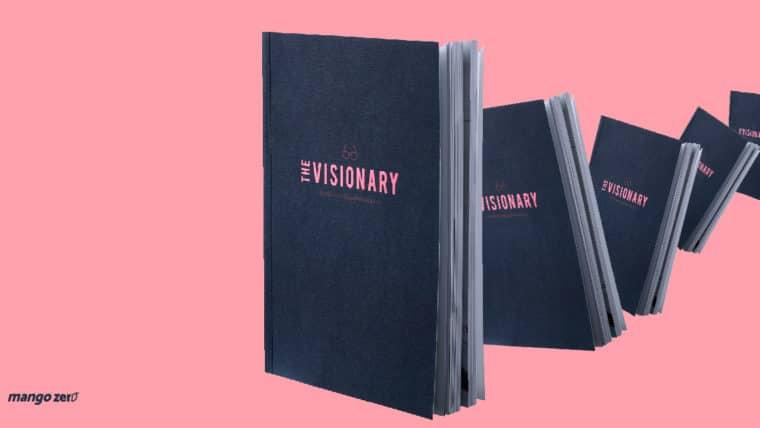 """'The Visionary' หนังสือคู่มือที่รวมแนวคิดการทรงงานของในหลวง ร.9 ในฐานะ """"คนทำงาน"""""""