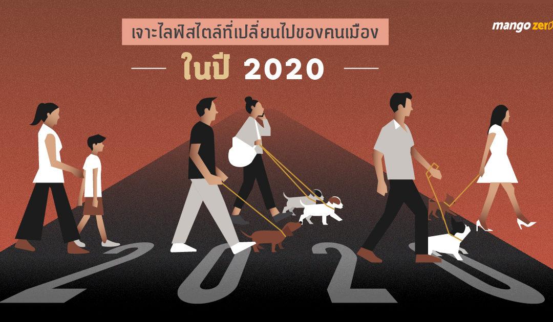 เจาะไลฟ์สไตล์ที่เปลี่ยนไปของคนเมืองในปี 2020