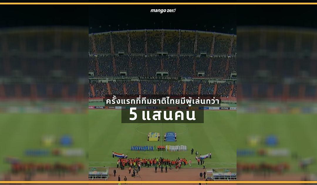 รู้ไหมว่าในศึก King's Cup ครั้งที่ 46 เสียงเชียร์ที่มาจากแฟนบอลทุกคนที่อยู่นอกสนามนั้นมีมากมายแค่ไหน?