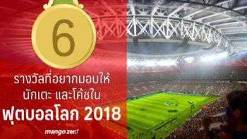 6 รางวัลที่อยากมอบให้นักเตะและโค้ชที่น่าจดจำในฟุตบอลโลก 2018