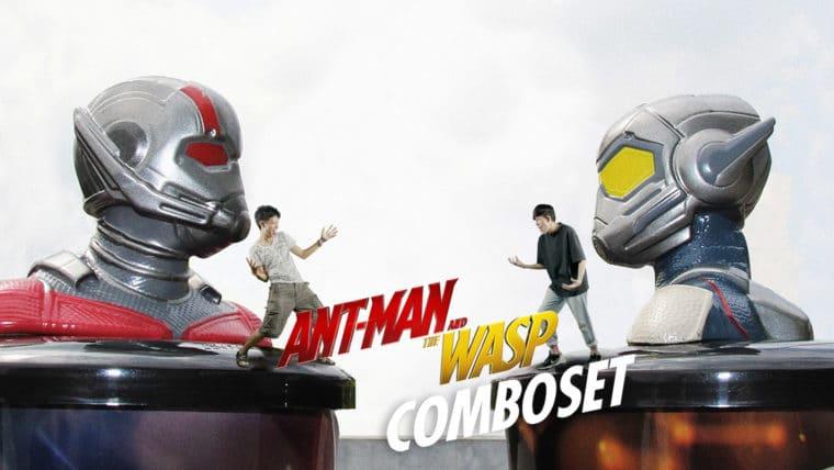 รวมภาพถ่ายสไตล์จิ๋วๆ Ant Man and The Wasp Combo Set จาก SF Cinema