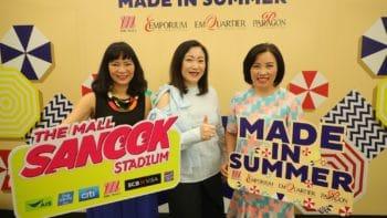 """เดอะมอลล์ กรุ๊ป ลุย 2 แคมเปญ """"The Mall Sanook Stadium"""" และ """"Made in Summer"""" สาดความสนุกรับซัมเมอร์"""