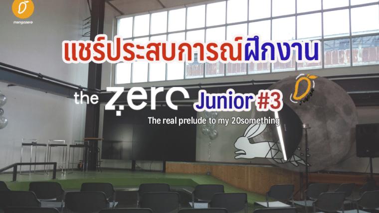 The Zero Junior : The real prelude to my twentysomething
