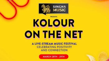 SINGHA MUSIC PRESENT KOLOUR ON THE NET อยู่บ้านก็สนุกกับเฟสติวัลได้!
