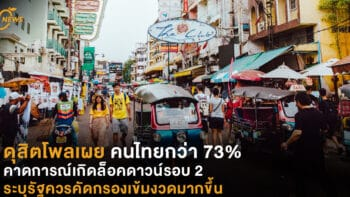 ดุสิตโพลเผย คนไทยกว่า 73% คาดการณ์เกิดล็อคดาวน์รอบ 2 ระบุรัฐควรคัดกรองเข้มงวดมากขึ้น