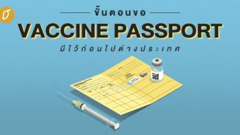 ขั้นตอนขอ VACCINE PASSPORT มีไว้ก่อนไปต่างประเทศ