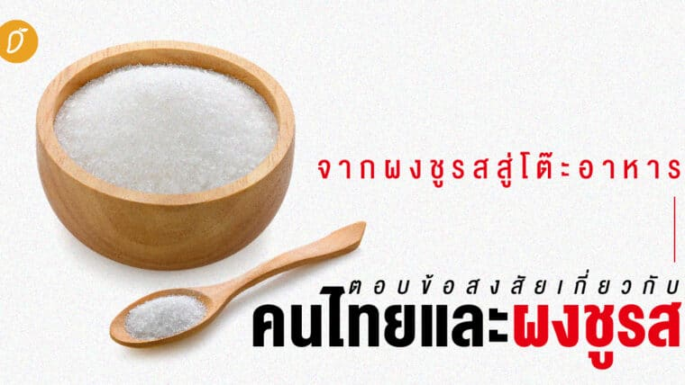 จากผงชูรสสู่โต๊ะอาหาร ตอบข้อสงสัยเกี่ยวกับคนไทยและผงชูรส
